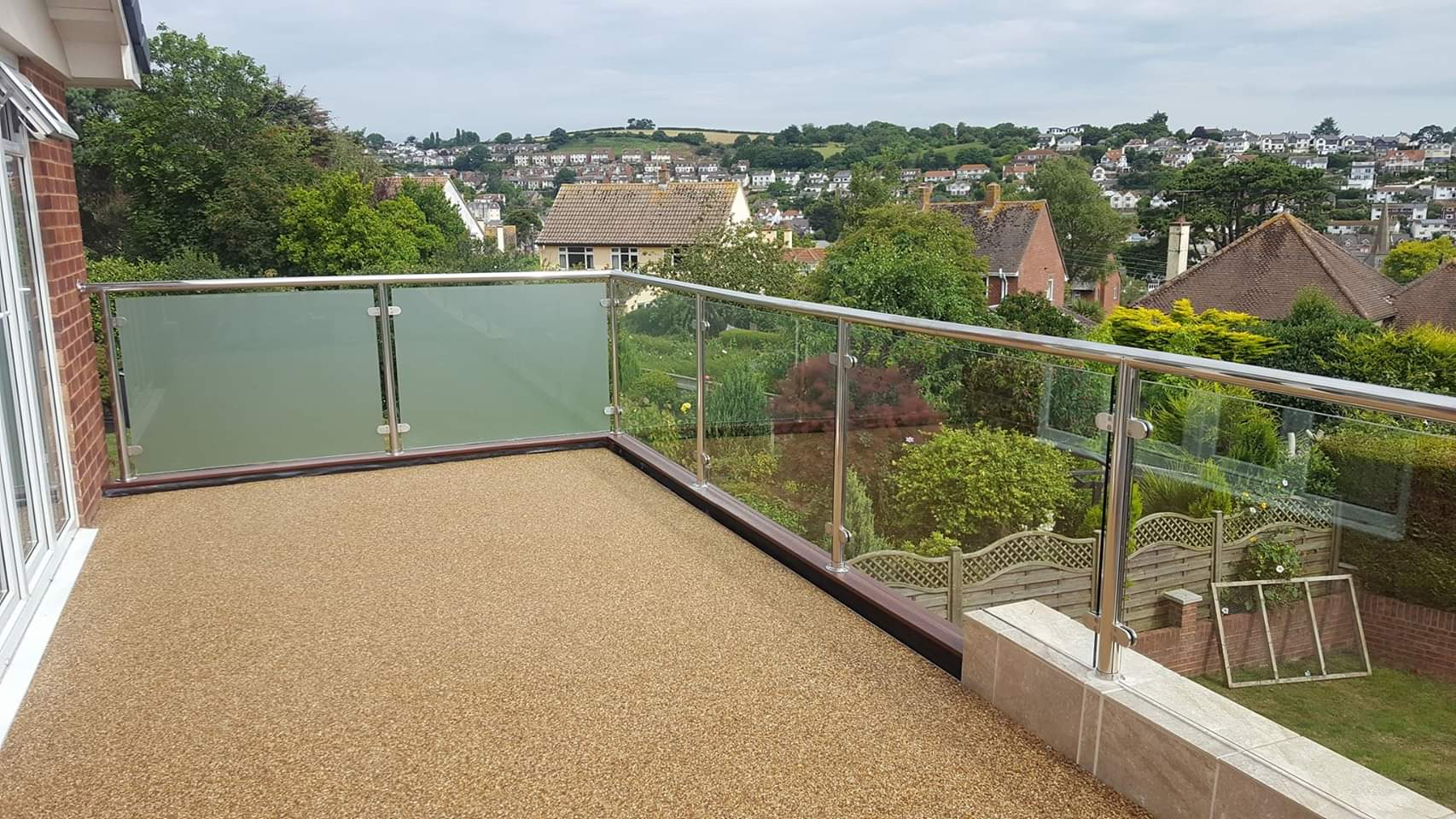 After Resin Bound Balcony