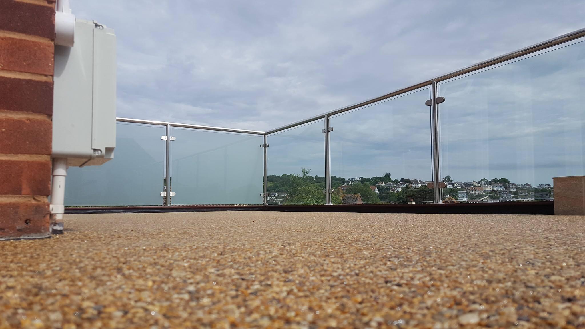 Resin Bound Balcony